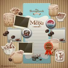 wedding scrapbook wedding scrapbook design elements free vector 23 916