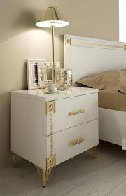 Bedroom Set Tucson Made In Italy Quality Luxury Modern Furniture Set With Golden