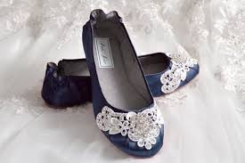 wedding shoes navy blue navy blue wedding shoes ballet flats 250 colors vintage lace