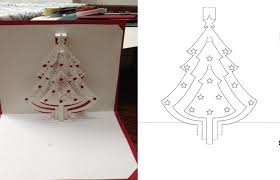 printable christmas pop up card templates pop up christmas cards templates christmas lights card and for