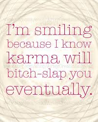 Karma Love Quotes by I Wouod Say That Having To Postpone Your Wedding A Year Is A