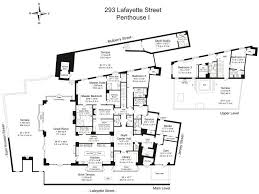 Manhattan Plaza Apartments Floor Plans 295 Lafayette St Phi Condo Apartment Sale At Puck Penthouses