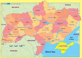 Map Of Ukraine And Crimea Map Of Ukraine Politically Map In The Atlas Of The World