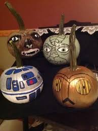 make your own bb 8 pumpkin the force star wars and all star
