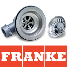 Franke Mm Polished Kitchen Sink Basket Strainer Waste EBay - Kitchen sink waste strainer