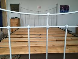 cast iron double bed in stratford london gumtree