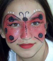 lady bug halloween costumes lady bug face painting ideas for