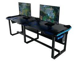 wooden gaming desk types of gaming desks wooden l shaped gaming