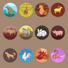 set of zodiac signs in style zodiac vector
