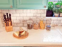 inspired examples of tiled kitchen countertops hgtv