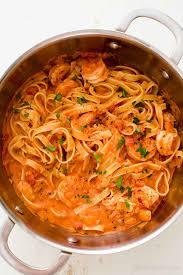 shrimp pasta alla vodka recipe with video simplyrecipes com