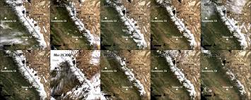 Satellite Maps 2015 Remote Sensing Helps Observe Drought In California Earth Imaging