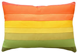 Decorative Pillows Modern Colorful Decorative Pillows Ombre Colors Modern Decorative