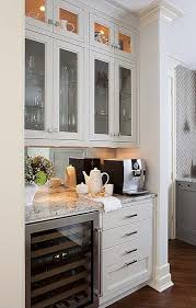 Kitchen Display Cabinet Terracotta Properties Kitchens Coffee Station Coffee Station