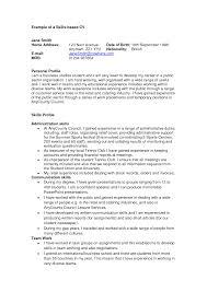 sample resume for general management diverse markets sample