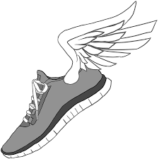 gym shoes clipart cross country pencil and in color gym shoes