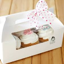 aliexpress buy 6 cupcake boxes with pvc window and insert