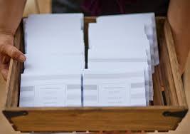 Magazine Wedding Programs C Weddings Magazine Personalized Stationery Invitations