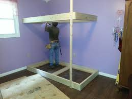 Build A Bunk Bed Triple Bunk Bed