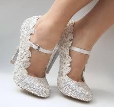 Wedding Shoes Ideas Wedding Crystal Shoes Ideas By Swarovski Weddings Eve
