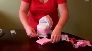 Youtube Baby Shower Ideas by How To Make A Diaper Cake Simple Bassinet With Wheels For Baby