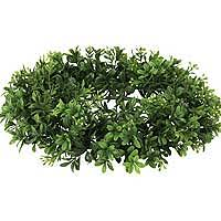 Candle Rings Silk Candle Rings Floral Foliage Decorative Accents