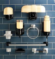Art Deco Bathroom by Astonishing Art Deco Lighting Fixtures Enviola Art Deco Bathroom