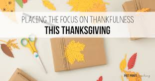 all about gratitude placing the focus on thankfulness this