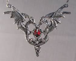 dragon jewelry necklace images Dragon heart necklace dragon jewelry jpg