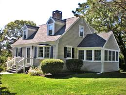 images of cape cod style homes exterior side view showing sunroom dennis id 20462 charming