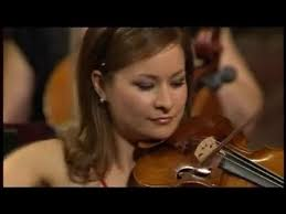 Blind Violinist Famous Arabella Steinbacher Tchaikovsky Violin Concerto Youtube