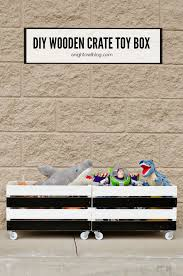 How Do You Make A Wooden Toy Box by Diy Wooden Crate Toy Box A Night Owl Blog