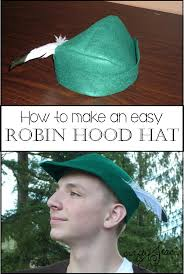 How To Make A Robin Hat Out Of Paper - learn how to sew a simple felt robin hat or pan