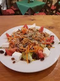 cuisine perenne ensalada vegetariana con semillas de café bar perenne selección