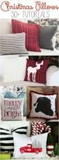 diy christmas pillow tutorials diy christmas pillows christmas