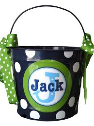 easter pail 10 quart personalized easter pail basket easter holidays and