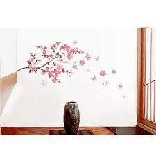 amazon com mzy llc tm cherry blossom butterfly wall decals amazon com mzy llc tm cherry blossom butterfly wall decals decorative nursery room wall sticker decor baby