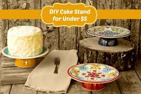 cake diy diy cake stand for 5 the bearfoot baker