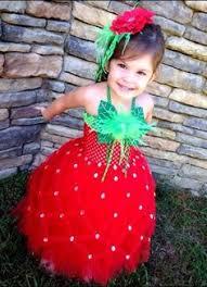Cute Halloween Costumes Baby Girls Strawberry Tutu Costume Kids Halloween Costumes Kids