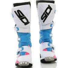 New Sidi X 3 Lei Ladies Mx White Pink Blue Premium Womens