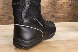 lightweight motorcycle boots tourmaster solution wp air motorcycle boots review