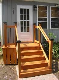 Back Stairs Design Best 25 Porch Steps Ideas On Pinterest Front Porch Steps Porch
