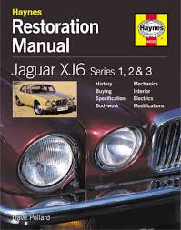 jaguar xj6 restoration manual restoration manuals amazon co uk