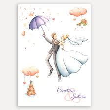 parapluie mariage faire part chêtre c j joanna fux illustratrice créatrice