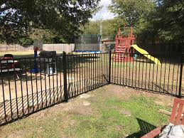 wrought iron fence repair dallas fort worth tx