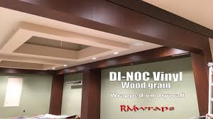 3m di noc vinyl wood grain wall wraps rmwraps com youtube