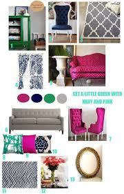 38 best fuchsia u0026 navy living room images on pinterest navy
