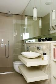 lighting floating shelves small bathroom design ideas