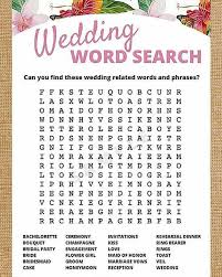 wedding words for bingo 21 bridal shower and ideas your guests will stayglam