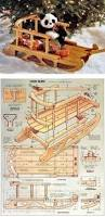 Outdoor Woodworking Projects Plans Tips Techniques by Vivtorian Wooden Sled Plan Children U0027s Outdoor Plans And Projects